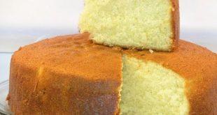 طريقة عمل الكيكة الاسفنجية بالصور , طريقه الكيكة الاسفنجية