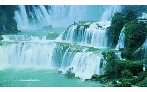 صورة صور عن الطبيعة , اجمل المناظر الطبيعية الخلابة للشلالات
