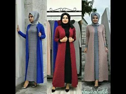8965ebd7d موضة شتاء 2019 للمحجبات , اجمل ملابس المحجبات فى شتاء هذا العام ...