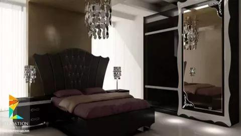 بالصور غرف نوم للعرسان 2019 , اجمل تصميمات غرف النوم للعرسان 2864 2
