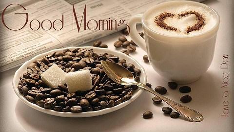 بالصور صباح الخير قهوة , تحية الصباح برائحة القهوة 2926 8