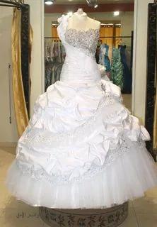 بالصور صور بدلات عرس , اجمل صور فستان الفرح للمحجبات 2971 6