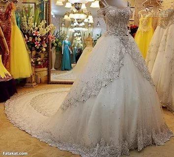 بالصور صور بدلات عرس , اجمل صور فستان الفرح للمحجبات 2971 8