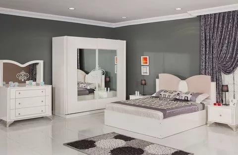 صور غرف نوم بيضاء , احدث التصميمات لغرف النوم البيضاء
