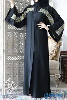 بالصور عباية سعودية , اجمل تصميمات العباءة السعودية 3016 7