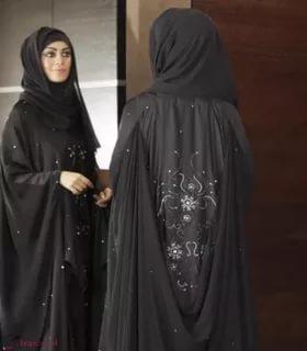بالصور عباية سعودية , اجمل تصميمات العباءة السعودية 3016 8