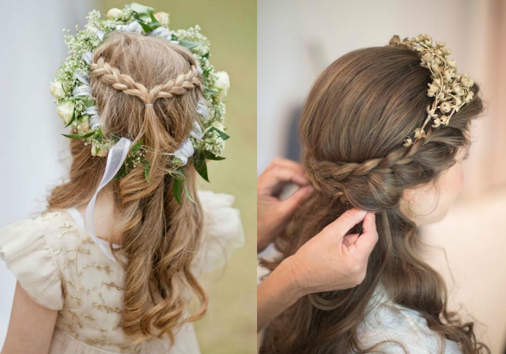 صورة صور تسريحات شعر , احدث تسريحة شعر لطفلة فى السهرات