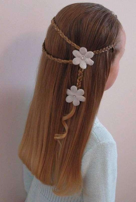 صور صور تسريحات شعر , احدث تسريحة شعر لطفلة فى السهرات