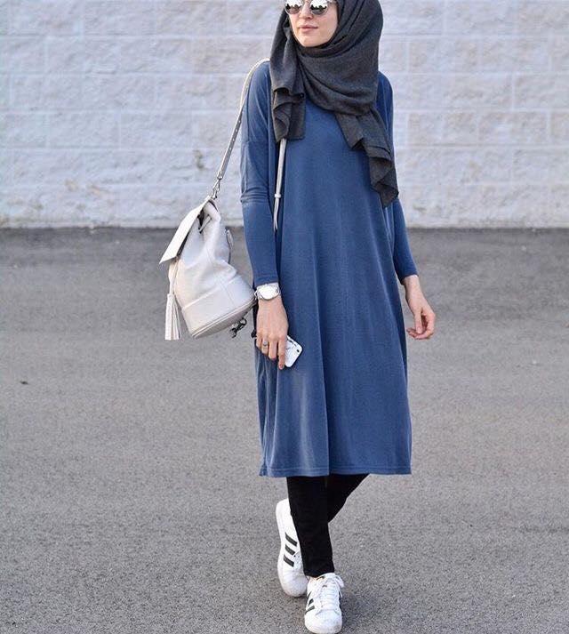 صورة موضة المحجبات , احدث ازياء الموضة للبنت المحجبة