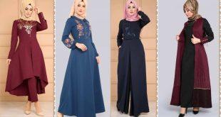 ملابس محجبات تركية , اجمل الملابس التركية 2019