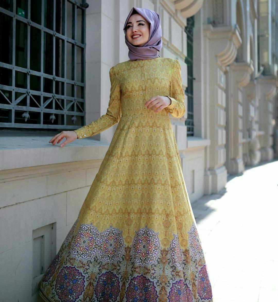 بالصور ملابس محجبات تركية , اجمل الملابس التركية 2019 3753 9