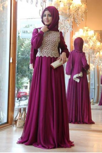 بالصور فساتين تركية , احدث موديلات الفساتين التركية 3814 4