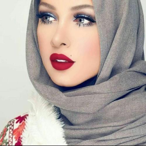 اجمل بنات محجبات فى العالم , صور احلى بنات محجبة عيون