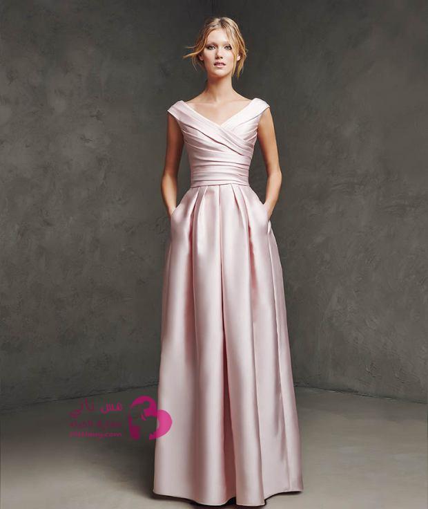 صورة فساتين طويله فخمه , اجمل الفساتين الراقية