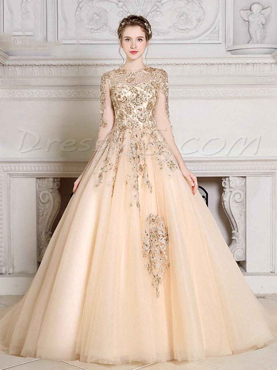بالصور فساتين طويله فخمه , اجمل الفساتين الراقية 3898 5