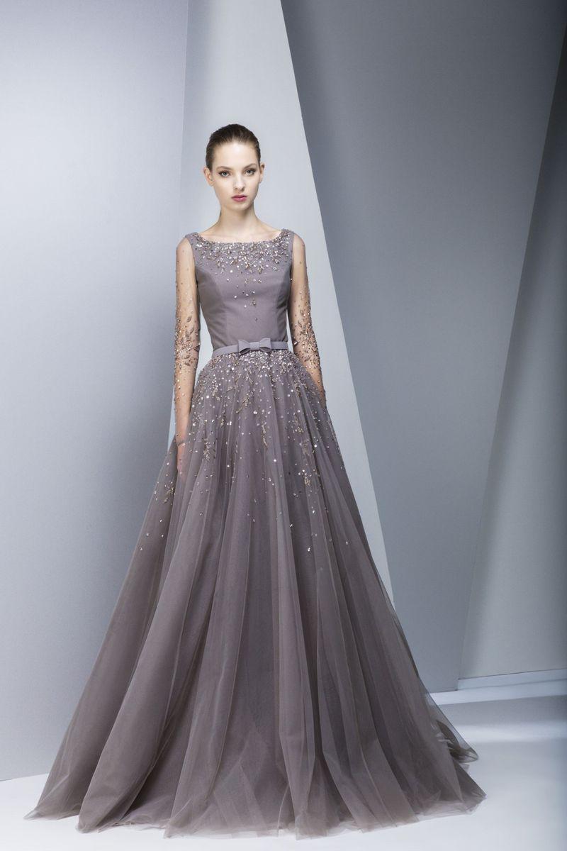 بالصور فساتين طويله فخمه , اجمل الفساتين الراقية 3898 7