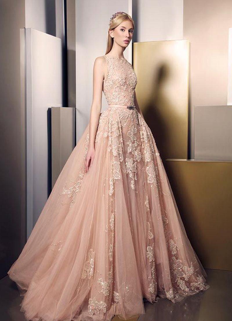 بالصور فساتين طويله فخمه , اجمل الفساتين الراقية 3898 8