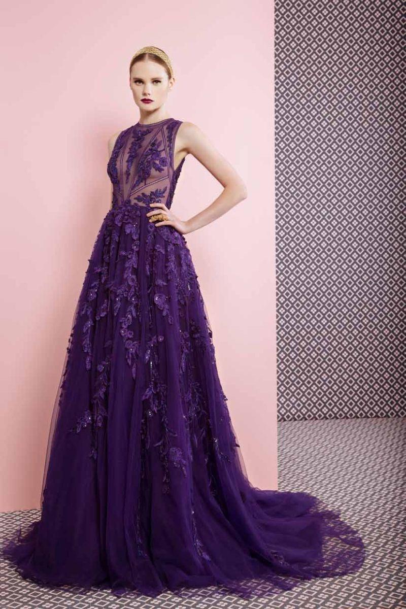 بالصور فساتين طويله فخمه , اجمل الفساتين الراقية 3898 9
