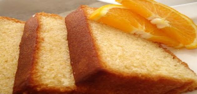 صورة كيكة بسيطة , كيكة برتقال سهلة