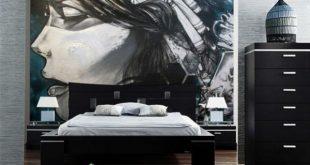 صوره ورق جدران غرف نوم , صور احلى اشكال ورق حوائط
