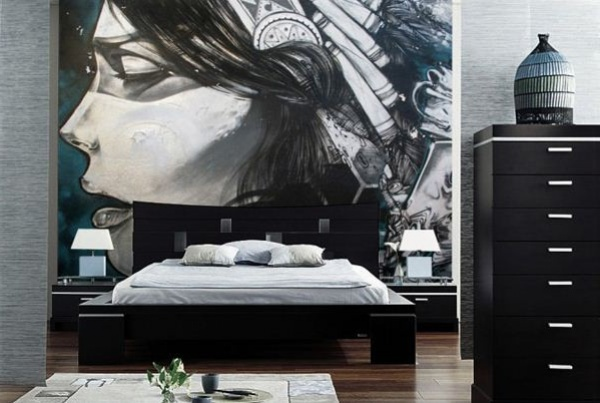 صور ورق جدران غرف نوم , صور احلى اشكال ورق حوائط