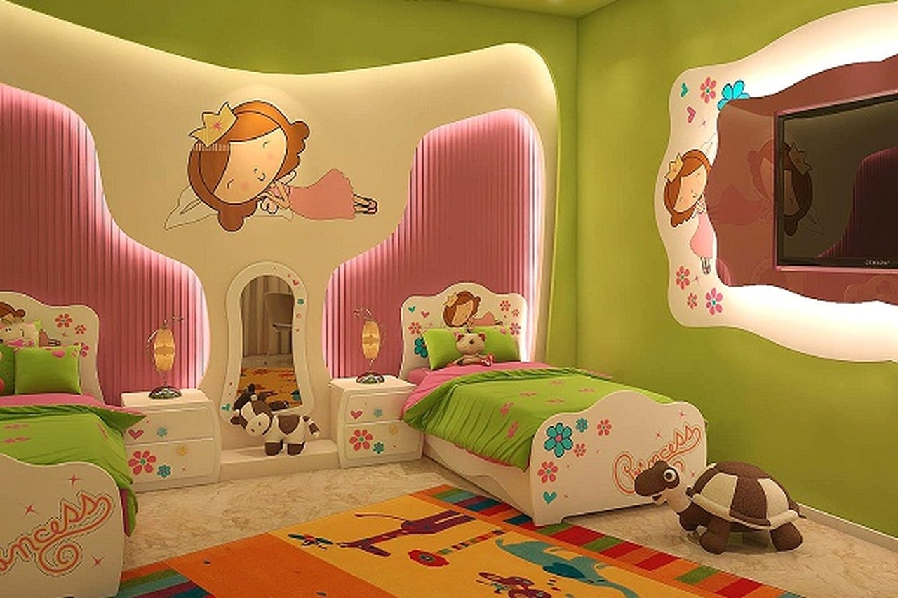 بالصور صور غرف نوم اطفال , احلي صور ديكورات لغرف الاطفال 1693 11