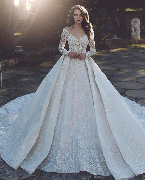 صورة بدلات اعراس , اجمل فساتين للعروس