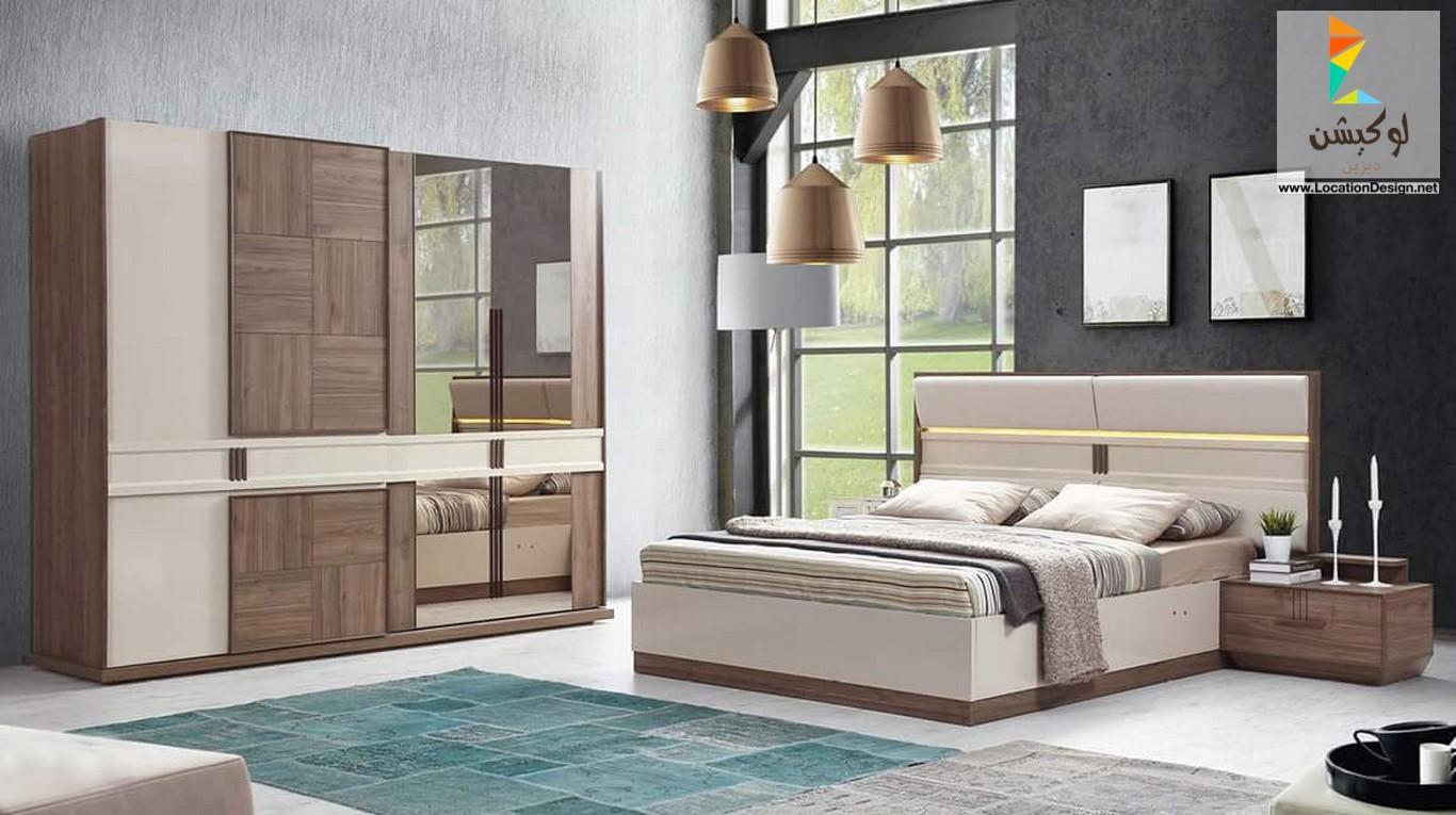 555b0d2fc غرف نوم مودرن 2019 , احدث الاثاث الخاص بغرفه النوم - عيون الرومانسية