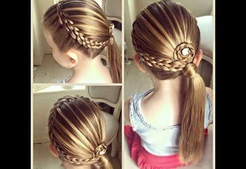 صورة تسريحات شعر للاطفال , تسريحه مميزه للاطفال