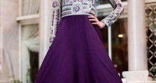 فساتين سهرة 2019 للمحجبات , اجمل مودلات فستان السهرة للمراه المحجبه