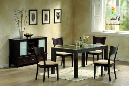 صورة غرف سفرة مودرن , صورة احدث تصميمات خاصة باثاث السفرة