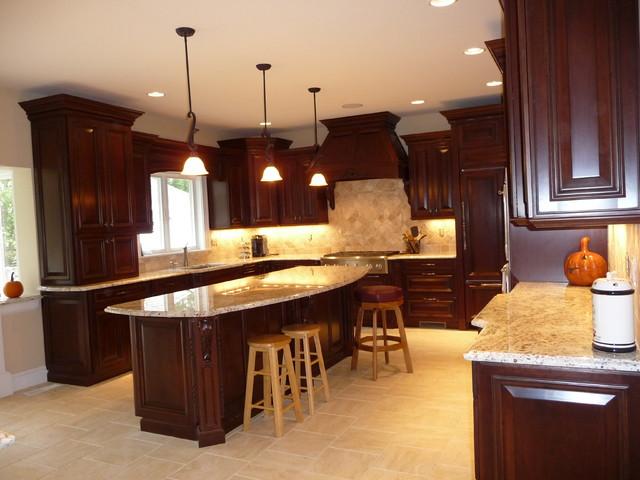 بالصور الوان مطابخ خشب , احدث تصميمات والوان المطبخ العصرى 609 11