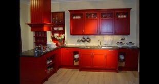 صوره الوان مطابخ خشب , احدث تصميمات والوان المطبخ العصرى