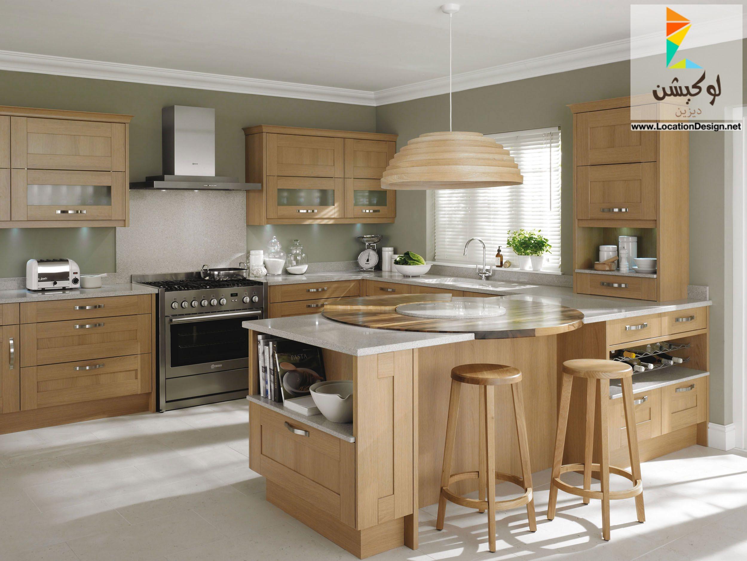 بالصور الوان مطابخ خشب , احدث تصميمات والوان المطبخ العصرى 609 2