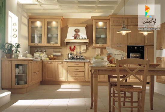 بالصور الوان مطابخ خشب , احدث تصميمات والوان المطبخ العصرى 609 4