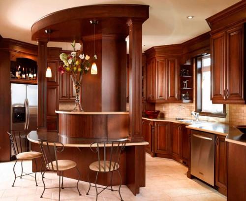 بالصور الوان مطابخ خشب , احدث تصميمات والوان المطبخ العصرى 609 8