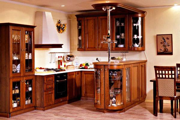 بالصور الوان مطابخ خشب , احدث تصميمات والوان المطبخ العصرى 609 9