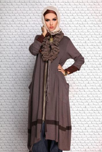 بالصور ملابس شتوية للمحجبات تركية , اجمل المودلات للبس التركى للمحجبات 639 5