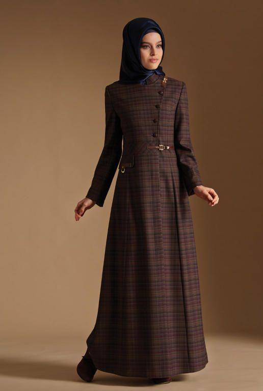 بالصور ملابس شتوية للمحجبات تركية , اجمل المودلات للبس التركى للمحجبات 639 7