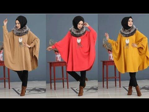 صورة ملابس شتوية للمحجبات تركية , اجمل المودلات للبس التركى للمحجبات 639 8