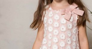 فصالات 2019 , اجمل تفصيلات فساتين بنات صغيرة تحفة