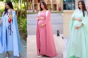 صورة ملابس حوامل , اجمل الملابس للمراة الحامل