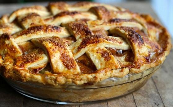 صور طريقة عمل فطيرة التفاح , كيفية عمل فطيرة بحشو التفاح