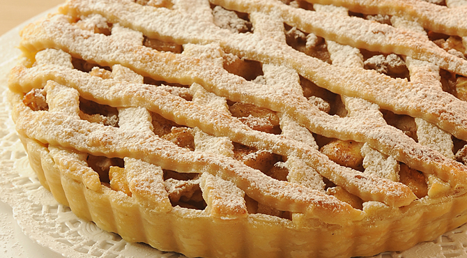 صورة طريقة عمل فطيرة التفاح , كيفية عمل فطيرة بحشو التفاح