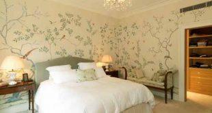 صوره ورق جدران لغرف النوم , اجمل اشكال ورق الحائط لغرفة النوم