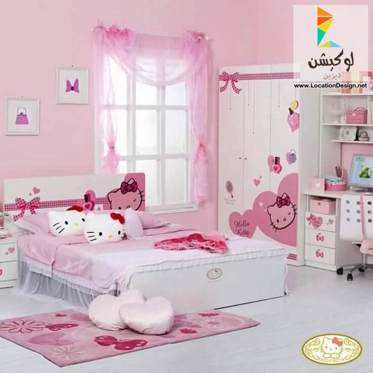 بالصور غرف نوم اطفال بنات , صور اجمل الغرف للبنات الصغيره تحفه 464 10
