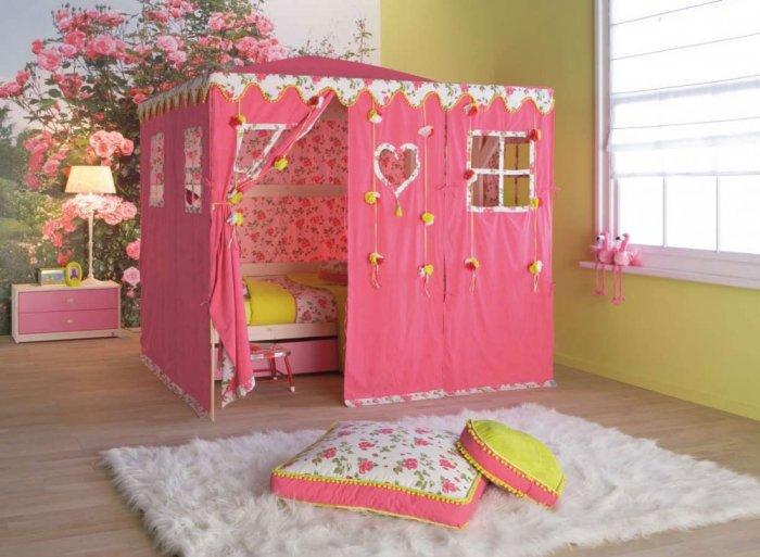 بالصور غرف نوم اطفال بنات , صور اجمل الغرف للبنات الصغيره تحفه 464 2