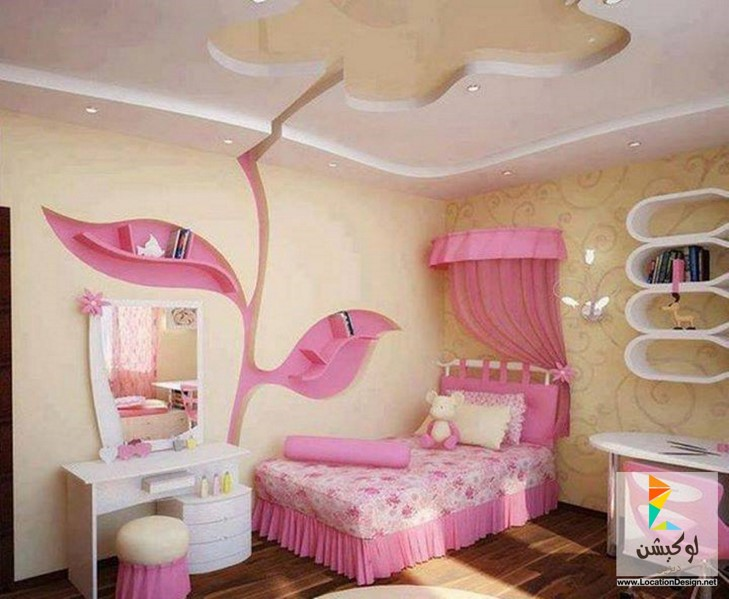 بالصور غرف نوم اطفال بنات , صور اجمل الغرف للبنات الصغيره تحفه 464 6