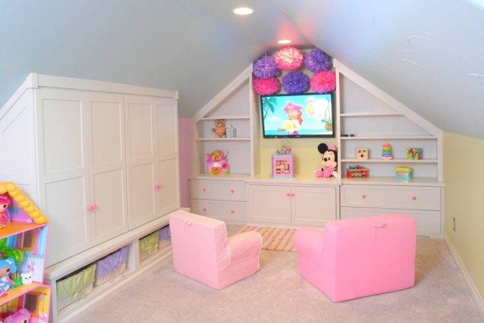 بالصور غرف نوم اطفال بنات , صور اجمل الغرف للبنات الصغيره تحفه 464 7