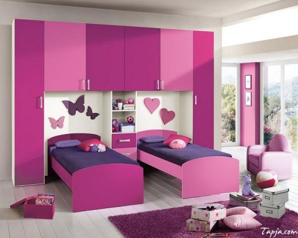 بالصور غرف نوم اطفال بنات , صور اجمل الغرف للبنات الصغيره تحفه 464 8